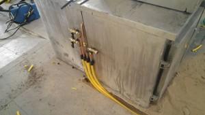 פרויקט התקנת צנרת גז במסעדה בתל אביב