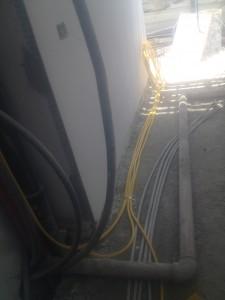 התקנת צנרת גז בבניין חדש