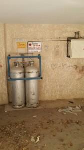 העתקת מיכלי גז, בית בחולון